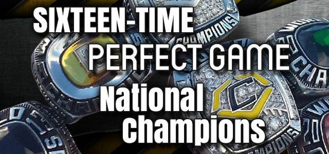 EvoShield Canes 10 Time Perfect Game Champions